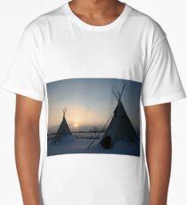 PLAINS CREE TIPI Long T-Shirt