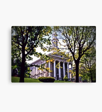 Court House, Easton Canvas Print