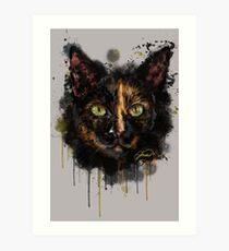 Project Caturday - Libby Art Print