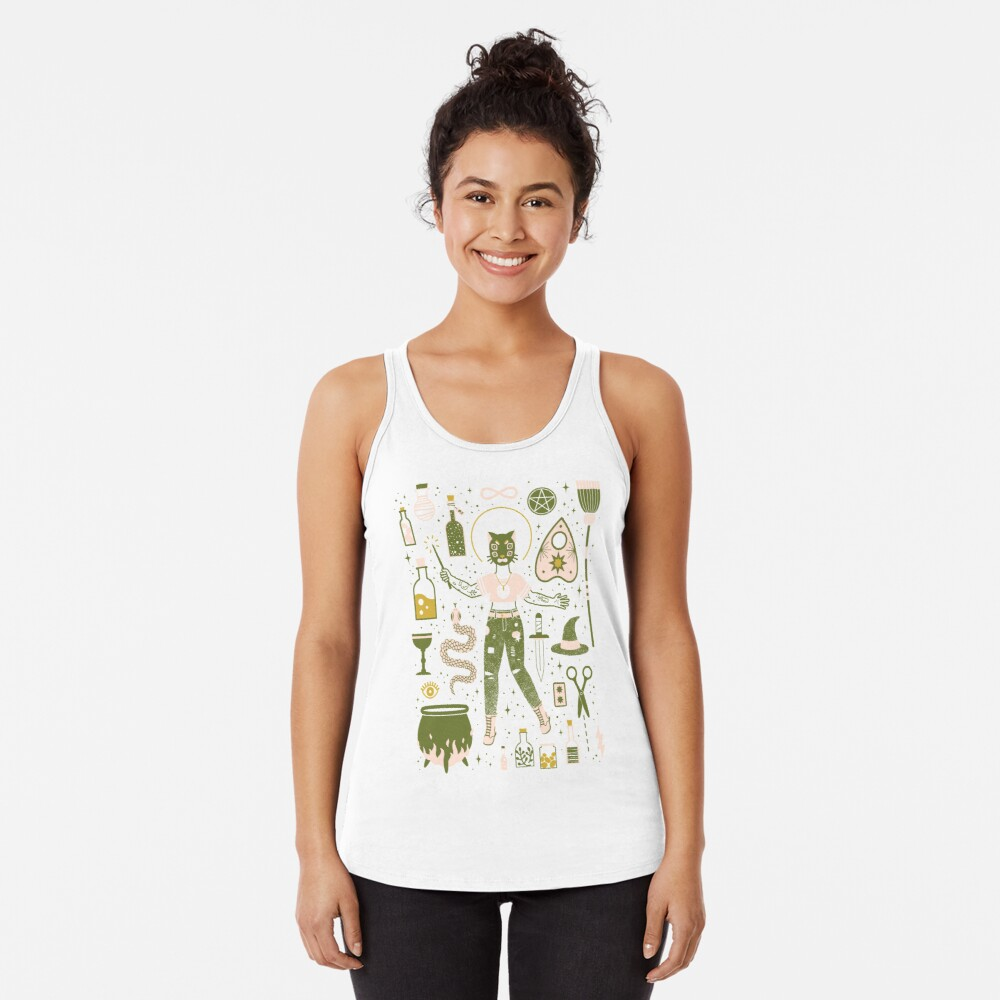 The Witch Racerback Tank Top