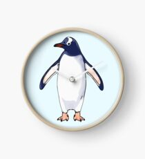 Gentoo Penguin Clock