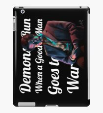 The Anger of a Good Man iPad Case/Skin