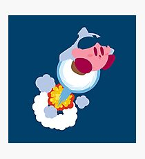 Jetpack Kirby Photographic Print