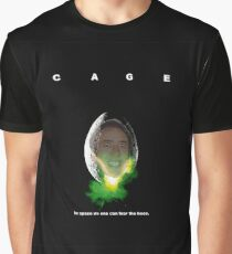 Cage - In Space... Graphic T-Shirt