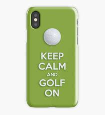 GOLF ON iPhone Case/Skin
