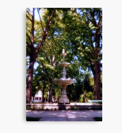 West park, Allentown Pa. Canvas Print