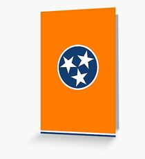 Tennessee Orange Greeting Card