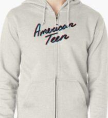 KHALID AMERICAN TEEN 3D Zipped Hoodie