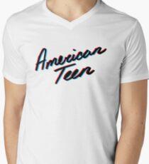 KHALID AMERICAN TEEN 3D Men's V-Neck T-Shirt