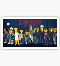 Simpsonized Things Sticker