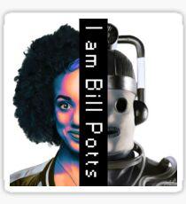 I am Bill Potts Sticker