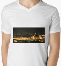Amsterdam at Night2 Men's V-Neck T-Shirt