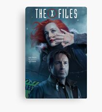 The X-files Poster s11 n°3 Canvas Print