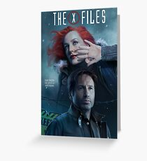 The X-files Poster s11 n°3 Greeting Card