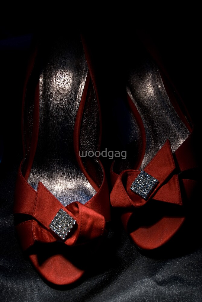 Little Red Shoes by woodgag