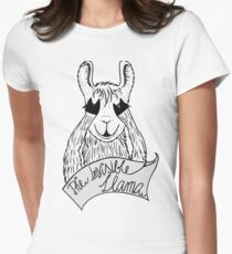 The invisible Llama Tailliertes T-Shirt