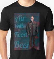 Air, Water, Food, Beer T-Shirt