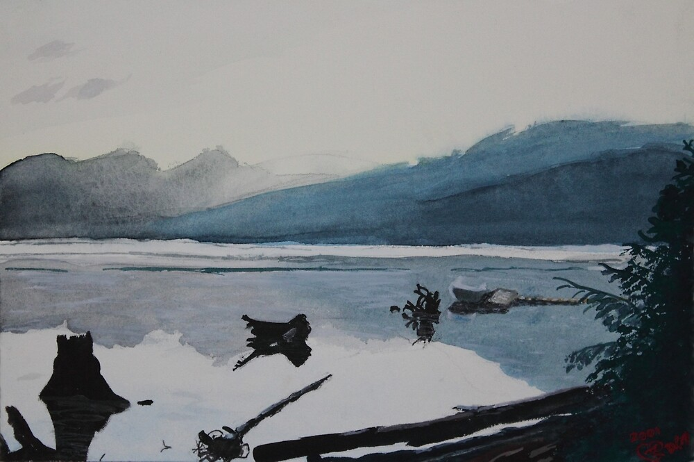 Oakridge Reservoir #3 by Dawna Morton