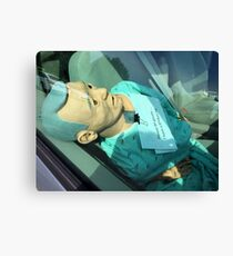The Medical Dummy....Rest Of The Story Canvas Print