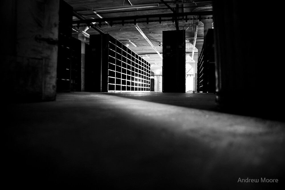 File Cabinets, BW by Andrew Moore