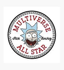 Multiverse All Star Rick Photographic Print
