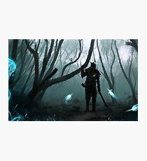 Skyrim - Ebony Warrior Photographic Print