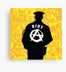 Riot Canvas Print