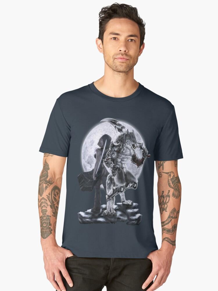 Unnatural Forces Men's Premium T-Shirt Front
