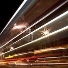 St Pauls Light Trail by Daniel Knights