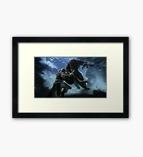 Skyrim - Into Battle Framed Print