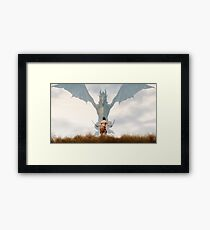 Skyrim - Relaxation Framed Print