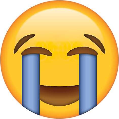 """Crying Happy Tears Secret Emoji 