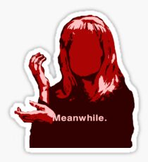 Meanwhile Laura Palmer Twin Peaks Sticker