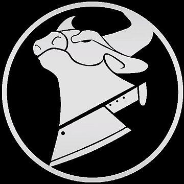 """Cow Chop Logo"" Unisex T-Shirt by WahedSlet | Redbubble Uberhaxornova Logo"