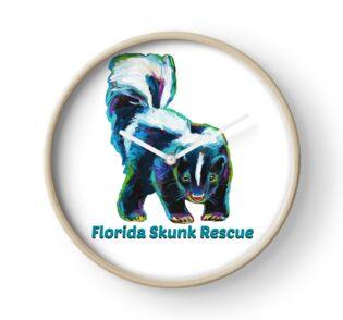 Florida Skunk Rescue Design by Robert Phelps