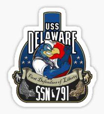 USS Delaware  Sticker