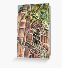 Ste Marie perspective Greeting Card