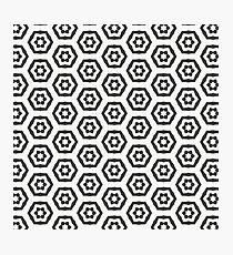 Hexagon Photographic Print