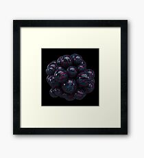 Abstract Mind Berry Framed Print