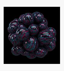 Abstract Mind Berry Photographic Print