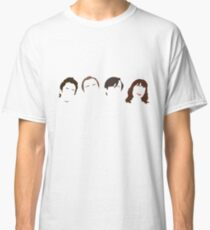 Peep Show - Minimalist Faces Outline Classic T-Shirt