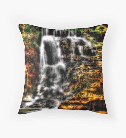 Evening Light Falls Throw Pillow