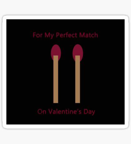 Perfect Match Sticker
