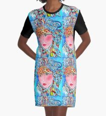 LUNA Graphic T-Shirt Dress