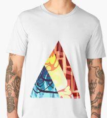 Primary Triangles Men's Premium T-Shirt