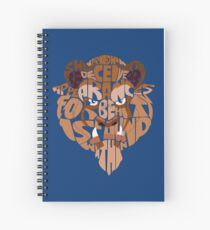 beast Spiral Notebook
