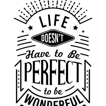 Life Quote Typography by sherifshaaban