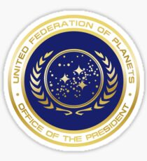 United Federation of Planets Presidential Seal Sticker