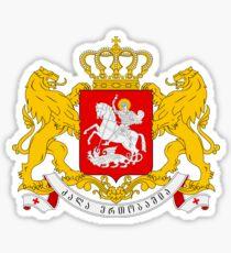 Georgia Coat of Arms Sticker