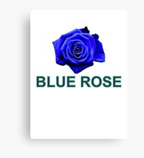BLUE ROSE Twin Peaks Canvas Print